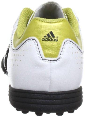 adidas 11Questra TRX TF J Q23927 Unisex-Kinder Fußballschuhe Weiß (Running White/Metallic Gold/Black)