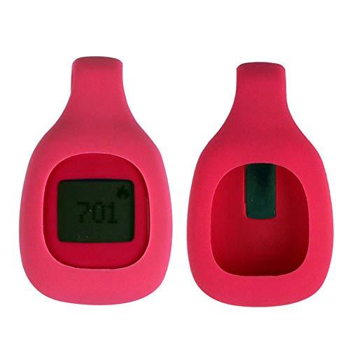 Earlyad Weiche Silikon-Schutzhülle Ersatz-Armband Schutzhülle Abdeckung Clip Hülle Tasche für Fitbit Zip Activity Tracker