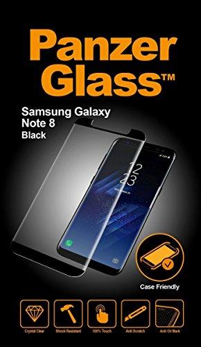 Samsung Galaxy Note8 BlackCaseFriendly Displayschutz