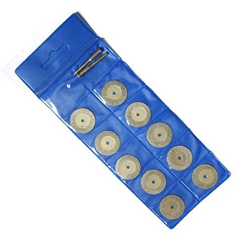 Sourcingmap Lot de 10 embouts 25 mm-Lame de scie à revêtement diamanté est coupée perceuses rotatives Tools disque de roue