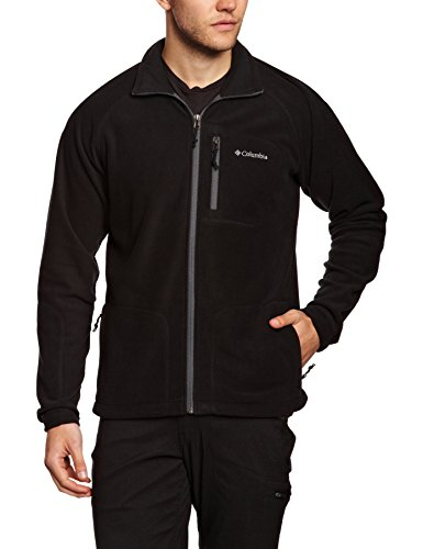 columbia-fast-trek-ii-full-zip-fleece-forro-polar-para-hombre-color-gris-oscuro-talla-l