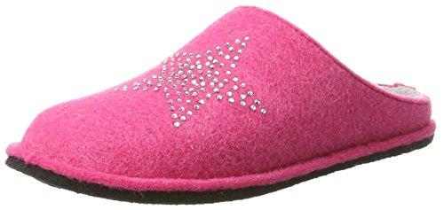 Supersoft Damen 522 227 Pantoffeln Pink (Fuchsia)