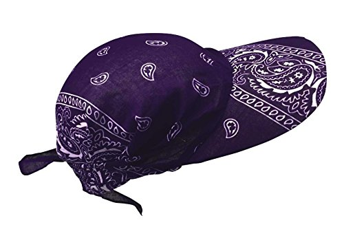 Preisvergleich Produktbild Bandana Cap mit Sonnenschirm in Lila