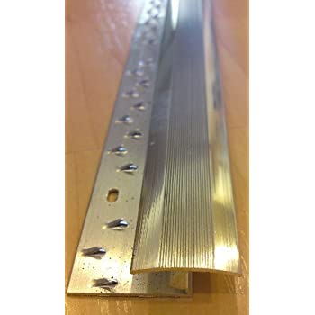 Aluminium Door Bar Zig Zag Carpet To Laminate Wood