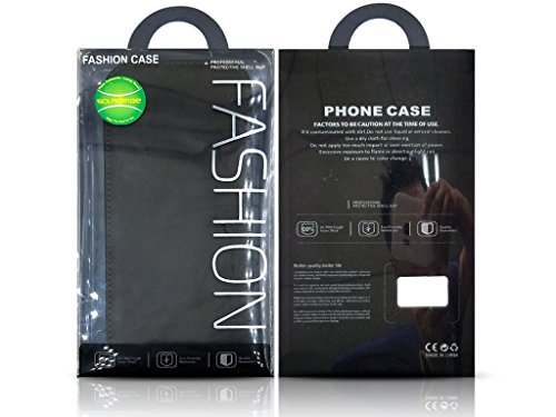 ki0313 Up Down flip case, Pelle, Up Down Flip Case - Black, iPhone 7 Up Down Flip Case - Black