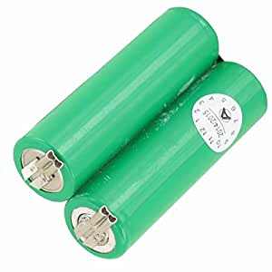 La batterie de rechange pour tondeuse moser ermila genio plus genius-ion 2.4 v 1854–0078, niMh