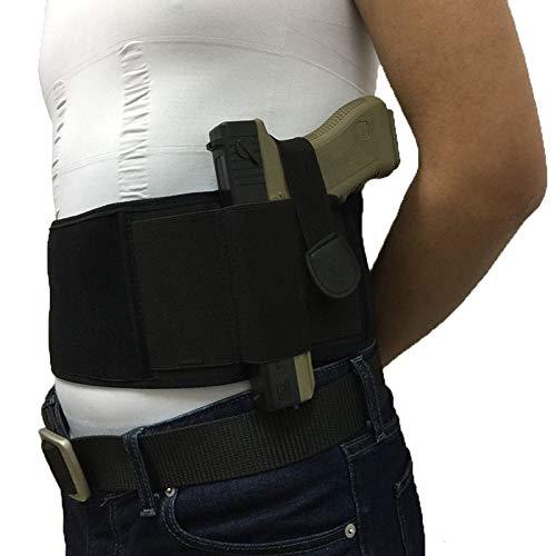 Taihang Verdeckte Taille Gun Holster Gürtel links und rechts Hand für Frauen Männer Gun Zubehör Glock ausgeführt -