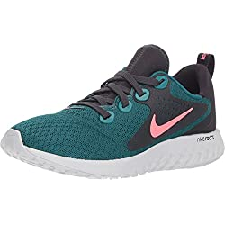 Nike Legend React (GS), Zapatillas para Hombre, (Geode Teal/Hot Punch/Oil Vast Grey 001