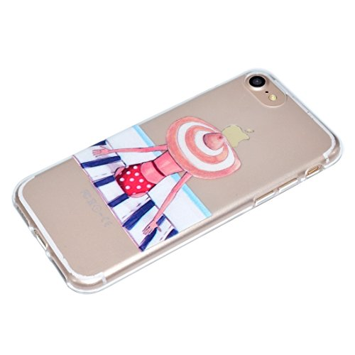 Mobiltelefonhülle - Für iPhone 7 Bestie Muster Soft TPU Schutzhülle ( SKU : Ip7g5351h ) Ip7g5351e