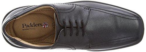 Padders Aston, Chaussures de ville homme Noir (Black)