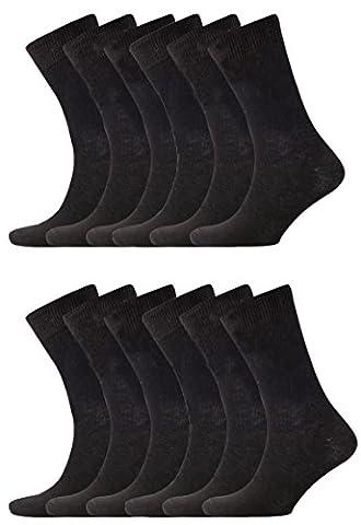 Socks Cotton Rich, Comfortable, Breathable, Designer Mens Socks, Ayra (12 Pairs of 100% Cotton