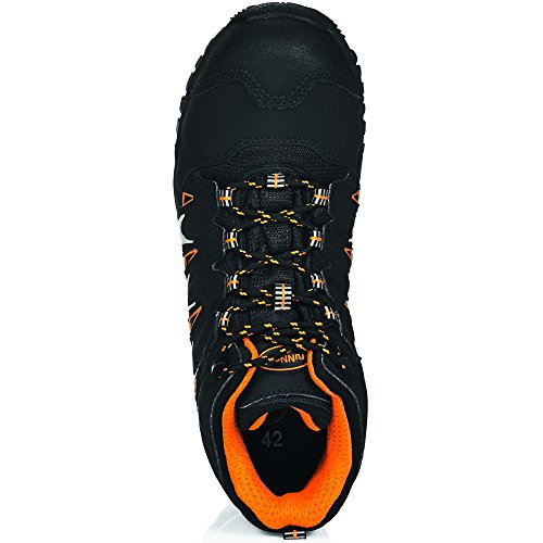 Runnex s1P-lightStar eLTEN 76623 noir, orange et 5131 argent Noir/orange/argent