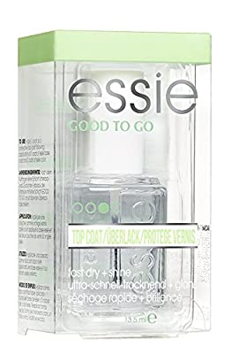 Essie Quick E Drying Drops Performance Quick Drying Top Coat For Nail Care Brilliant Shine and Protect