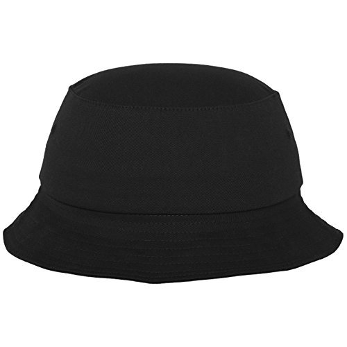 Flexfit Cotton Twill Bucket Hat Black black Size:One size by Flex fit Yupoong Flex Fit Twill