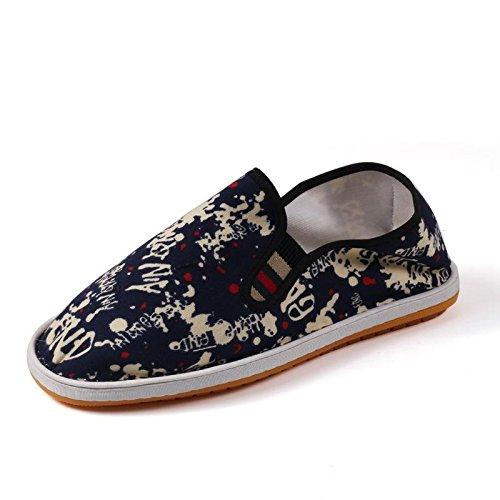 LvYuan Unisex scarpe di stoffa cinese tradizionale / informale retrò Breathe pattini del ricamo / scarpe Kung Fu / Arti marziali / slip-on scarpe 4#