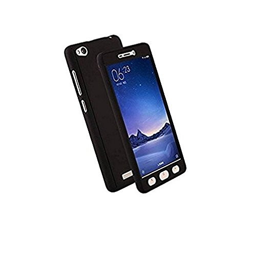 Cell Planet's Black Color Front & Back Full Protection Cover/Case for Xiaomi Mi4