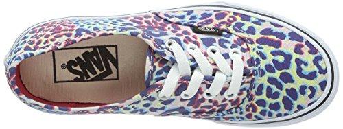 Vans U AUTHENTIC Unisex-Erwachsene Sneakers Mehrfarbig ((Leopard) Multi / DUX)