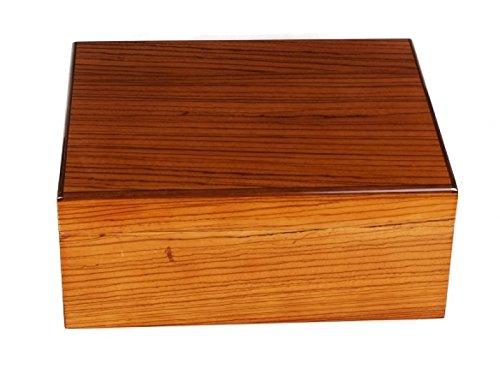 Savoy by Ashton Humidor Zebra Wood medium inkl. Lifestyle-Ambiente Tastingbogen