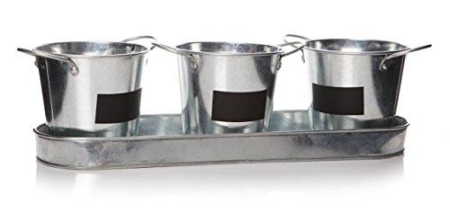 Vintage-Semillas para hierbas de cocina Maceta de ventana Jardín Box Plant Pot Kit Set de regalo