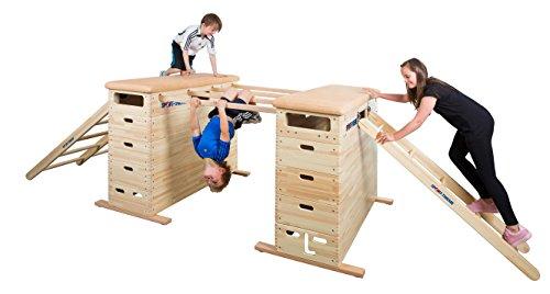 Sport-Thieme® Sprungkasten-Set Vario, Mit Schwenkrolleneinrichtung