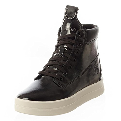 Timberland Mayliss 6 In Boot femmes, cuir lisse, bottes Noir