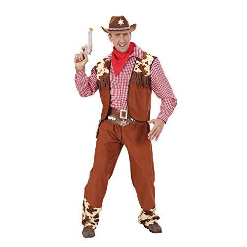 Widmann 58823 - Herren Cowboy Kostüm für den Western Held, Gröߟe L