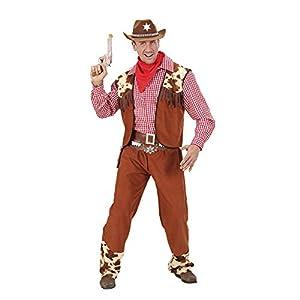 WIDMANN falksson Disfraz para Hombre Vaquero del Oeste, Talla L