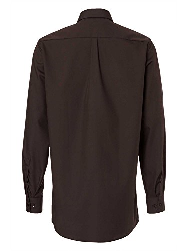 CASAMODA Herren Hemd 006052 72er Ärmel 100% Baumwolle - Comfort Fit - extralang Braun