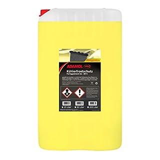 ADAMOL 1896 01260249 Kühlerfrostschutz fix & fertig -38°C 25L Gelb