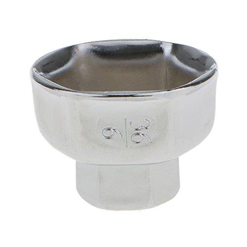 Preisvergleich Produktbild Sharplace Silber Ölfilter Entfernen Schlüssel Steckschlüssel Ölfilterschlüssel,  Durchmesser 36mm