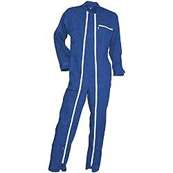 LMA 400516 CROCQ Combinaison Double, Bleu Bugatti, Taille 4
