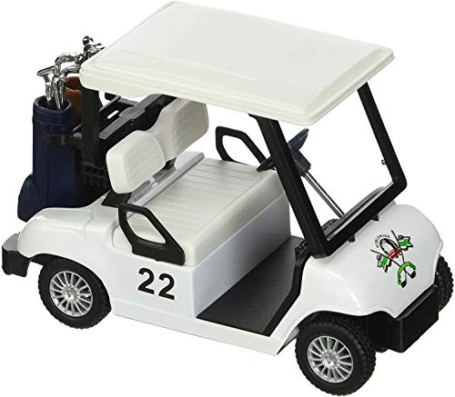 Jack Royal Golf Cart Metal Die-cast Toy Pull Back