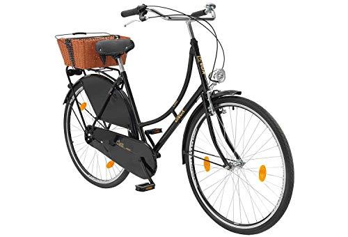 tretwerk DIREKT gute Räder Class Duch Triple 28 Zoll Hollandrad, Damen-Fahrrad 1-Gang mit Rücktrittbremse