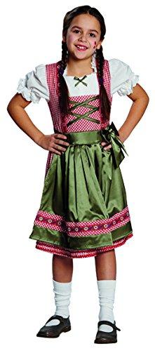 Mottoland Kinder Kostüm Dirndl Clara Oktoberfest Karneval Fasching Größe 140