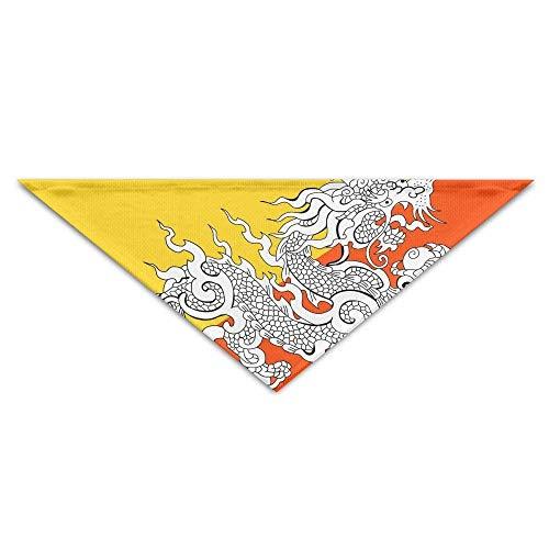 Sdltkhy Yemen Flag Dragon Dog Bandanas Scarves Triangle Bibs Scarfs Cool Basic Neckerchief Cat Collars Pet Costume Accessory Kerchief Holiday Birthday Gift