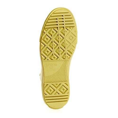 553267C CONVERSE SNEAKERS HAUTE JAUNE yellow