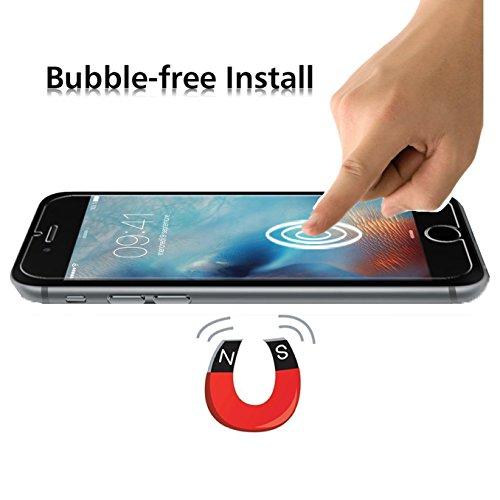 iPhone 6 / 6s Pellicola Protettiva, iVoler® [3D Toccare Compatibile] Pellicola Protettiva in Vetro Temperato per Apple iPhone 6/6s 4.7- Vetro con durezza 9H, Spessore di 0,2 mm,Bordi a