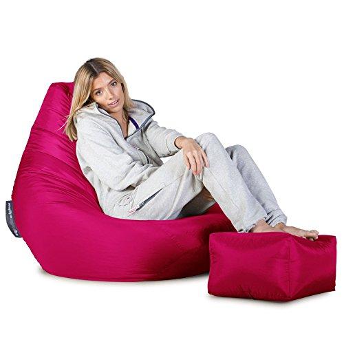 Big Bertha Original, Gaming Sitzsack Sessel, Pink - 5