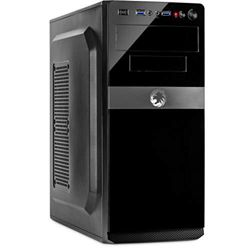 Captronic® Silent Office PC AMD A4-6300 2X 3,70GHz Turbo bis 3.90GHz   Kingston 4GB DDR3   24x DVD-RW   1TB HDD   HD 7480 2GB HDMI/DVI/VGA   USB 3.0   CardReader   LAN   Windows XP Pro 32bit
