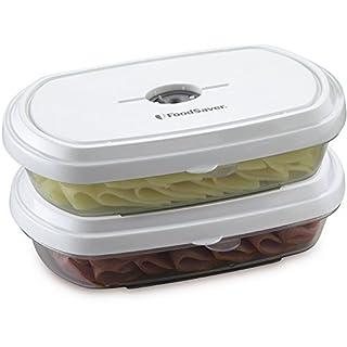 FoodSaver Deli Freshsaver Boîtes de rangement sous vide, 2-pack
