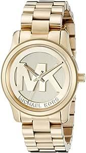 Michael Kors Damen-Armbanduhr Analog Quarz Edelstahl beschichtet MK5786