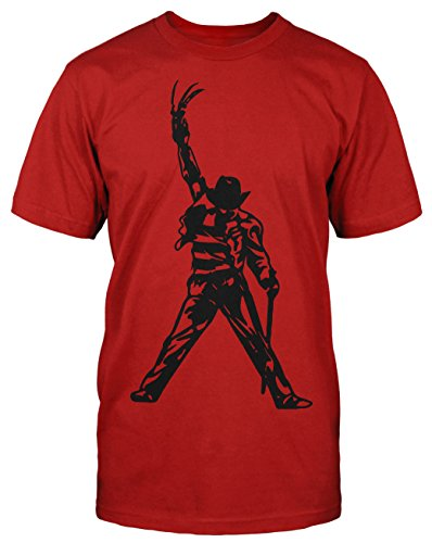 (Freddy Jackson T-Shirt Horror Halloween Rock King Music DJ)