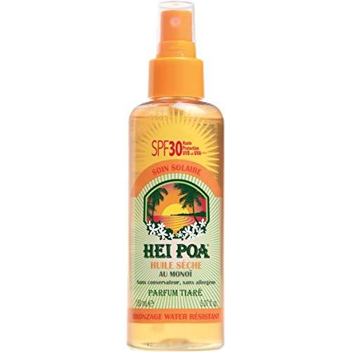 Hei Poa, Filtro solar corporal Aceite Seco Monoï