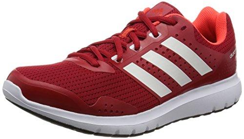 adidas Duramo 7, Scarpe Running Uomo, Rosso (Scarlet/Ftwr White/Ftwr White), 43 1/3 EU