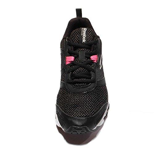 Blanc Chaussures Femme Noir Noir de Blanc Entrainement Running Run Rose Hexaffect Rose le Reebok Solaire t1qwvUff