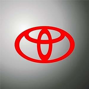 Adesivo PRESPAZIATO Toyota auto rally formula 1 sticker