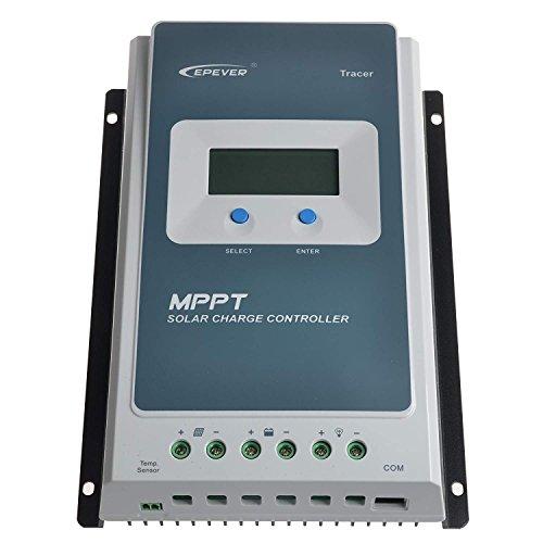 MPPT Controlador de carga solar 30A 12V / 24V Trabajo automático con...