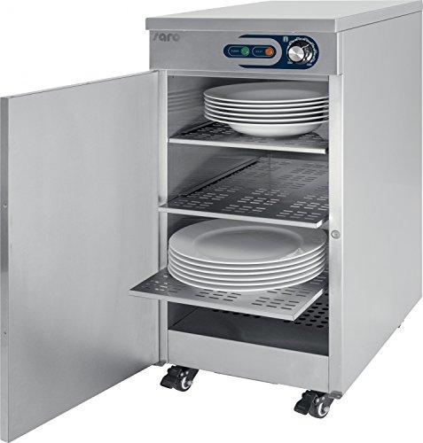 Tellerwärmer Wärmeschrank Edelstahl 55-60 Teller Wärme Schrank