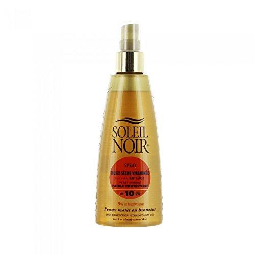 Soleil noir - Spray huile sèche vitaminée 10 faible protection