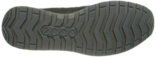 Ecco  ECCO CS14 LADIES, Baskets pour femme Noir - Schwarz (BLACK/BLACK/BUFFED SILVER 54869)